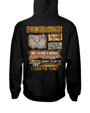 Boilermaker I Can Fix That Hooded Sweatshirt back