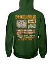 Boilermaker I Can Fix That Hooded Sweatshirt back