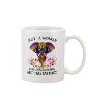 Just a woman who loves Elephants and has tattoos Mug thumbnail