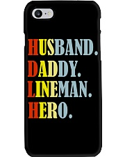 Husband Daddy Lineman Hero Phone Case thumbnail