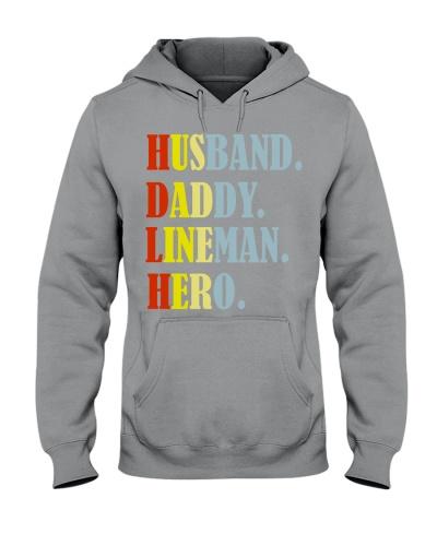 Husband Daddy Lineman Hero