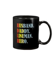 Husband Daddy Lineman Hero Mug thumbnail