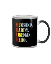 Husband Daddy Lineman Hero Color Changing Mug thumbnail