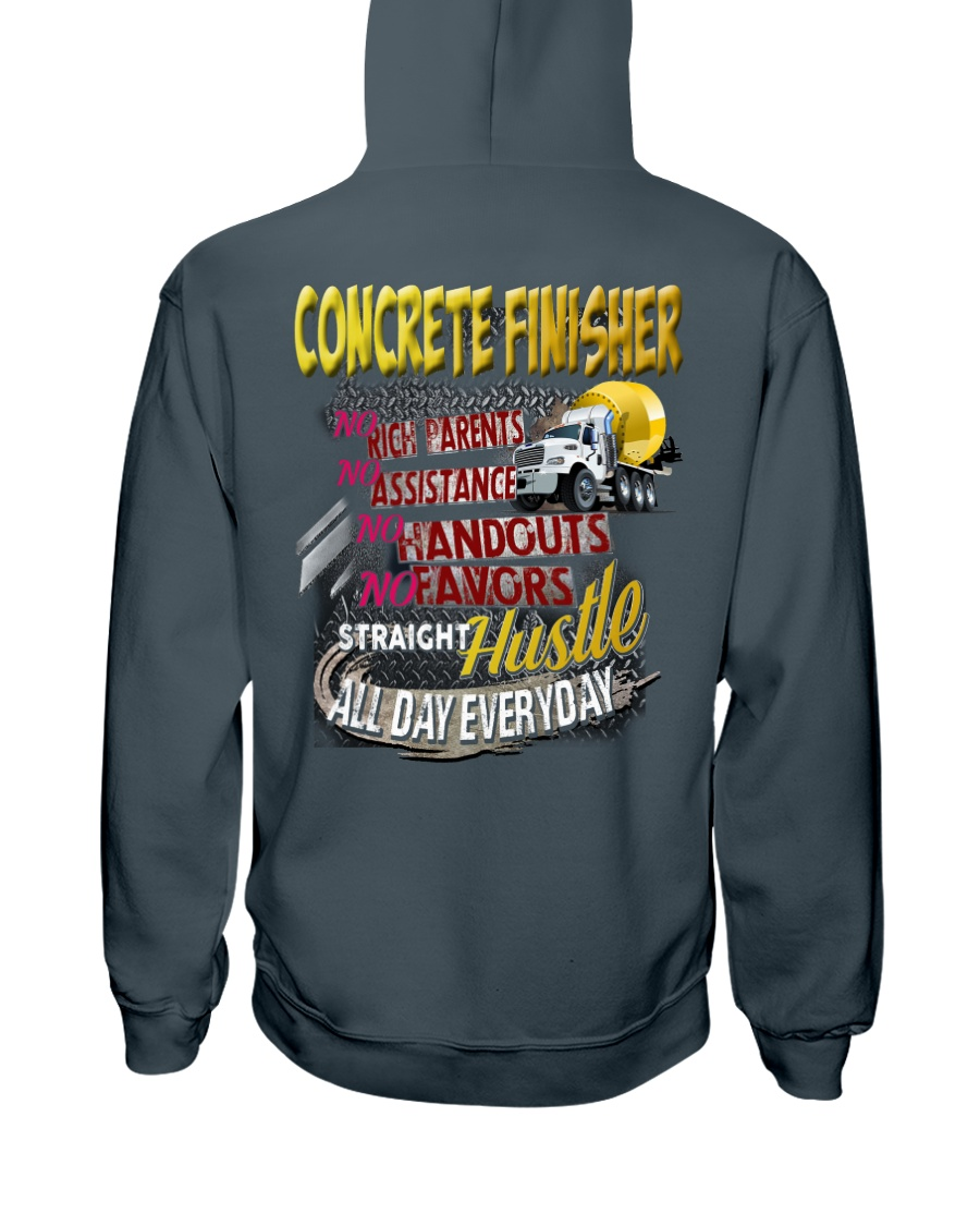 I am a Concrete Finisher Hooded Sweatshirt