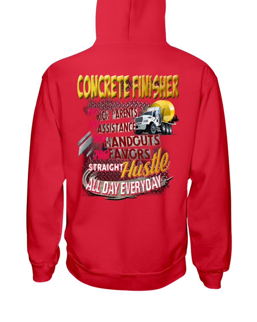 I am a Concrete Finisher Hooded Sweatshirt