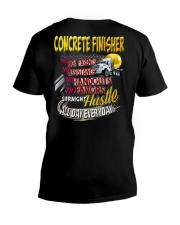 I am a Concrete Finisher V-Neck T-Shirt thumbnail