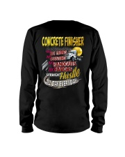 I am a Concrete Finisher Long Sleeve Tee thumbnail