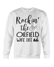 Rockin' the Oilfield's Wife life Crewneck Sweatshirt thumbnail