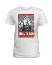 girl m red Ladies T-Shirt thumbnail