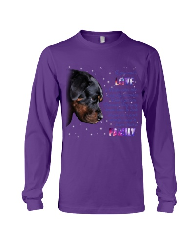 Rottweiler That Is Family