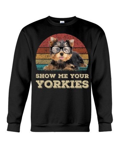 Yorkshire terrier show me your puppies