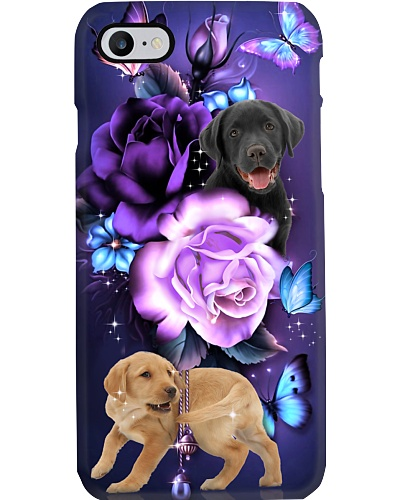 Labrador retriever magical phone case