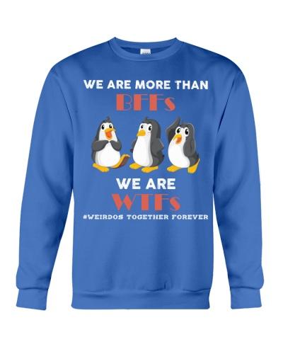 Ln penguin weirdos together forever
