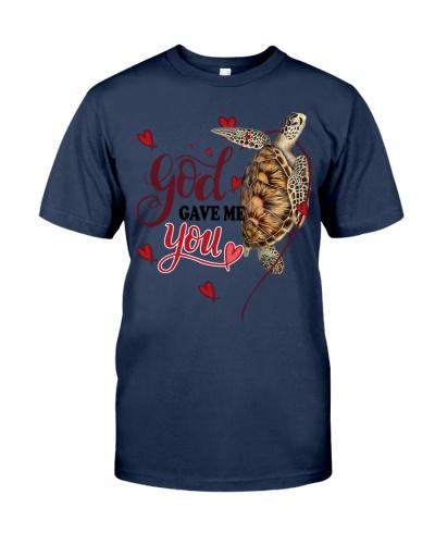 God gave me you Turtle shirt