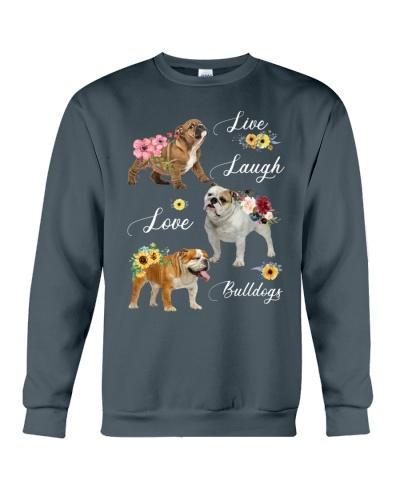 Ln bulldog live laugh love