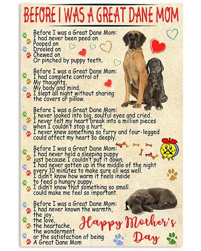 Great dane mom poster