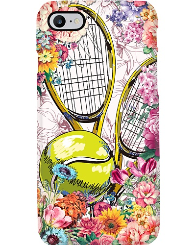 ST 6 Tennis with flower beautiful