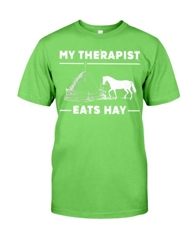 SHN 7 My therapist eats hay Horse
