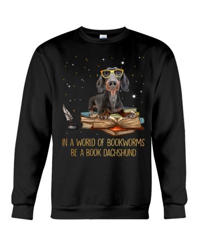 Mt Be A Book Dachshund Shirt