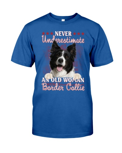 Border collie never underestimate old woman
