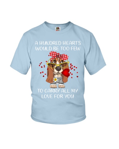 A hundred hearts would be too few Basset Hound