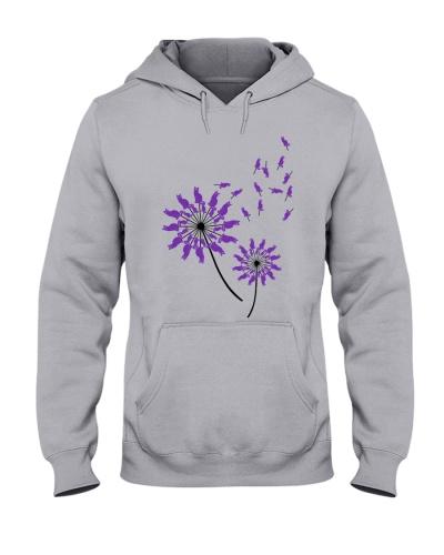 Cat purple Flower