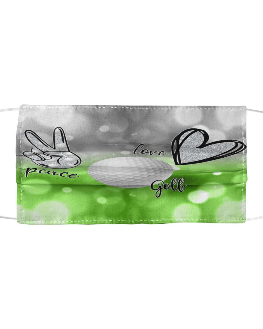 dt 11 golf cloth love 25420 Cloth face mask
