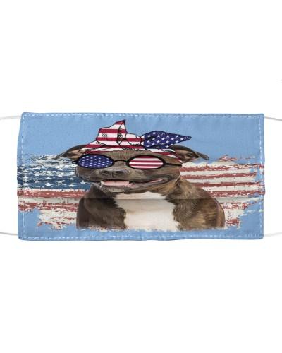 dt 6 pitbull usa flag faded cloth 18520