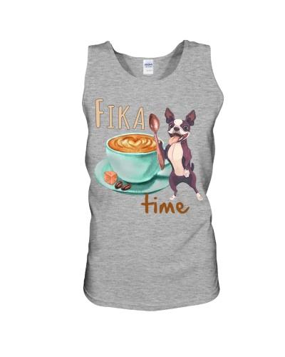 Fika Time Boston Terrier