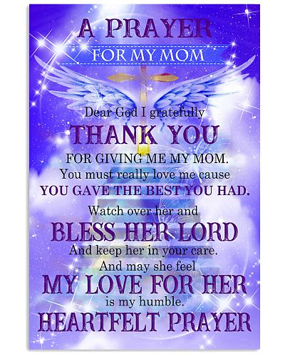 Mother a payer for my mom
