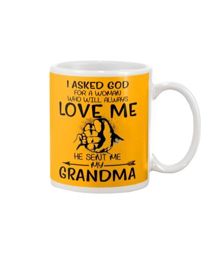 God sent me my grandma