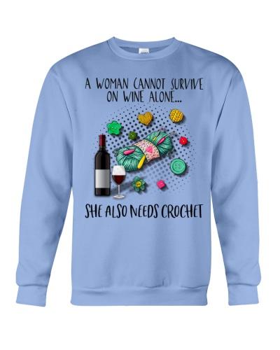 Tr 3 Crochet wine she needs