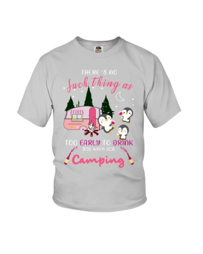 SHN Early to drink when camping Penguin shirt