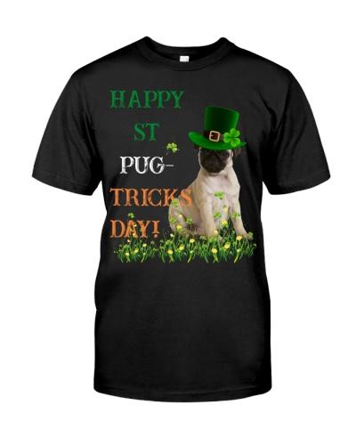 SHN Happy ST Pug-tricks day