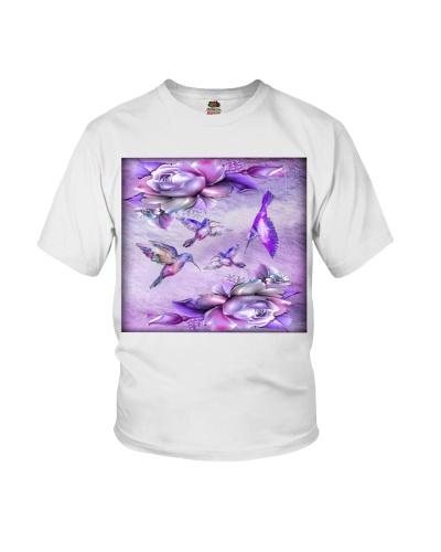 fn hummingbird  purple color