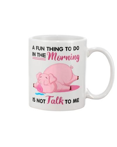 Pig a fun thing