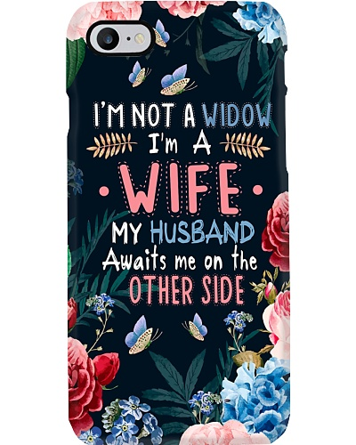 SHN 8 Awaits me on other side Husband phone case