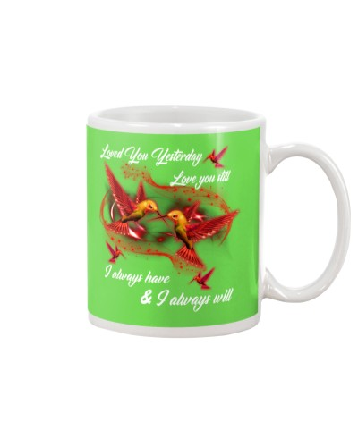 Hummingbird loved you yesterday