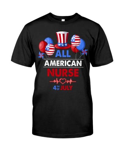 TTN 7 All American Nurse 4th Of July