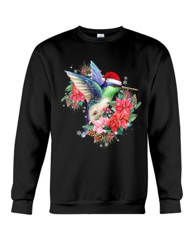 Humming bird poinsettia