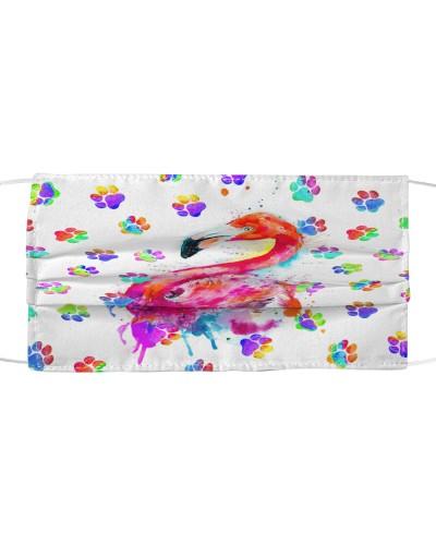 dt 8 flamingo paw colorful cloth 12520