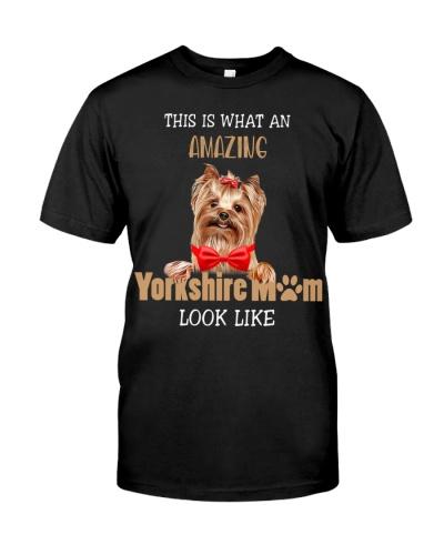 Amazing yorkshire mom shirt