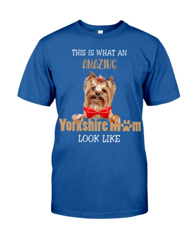 Amazing yorkshire mom shirt