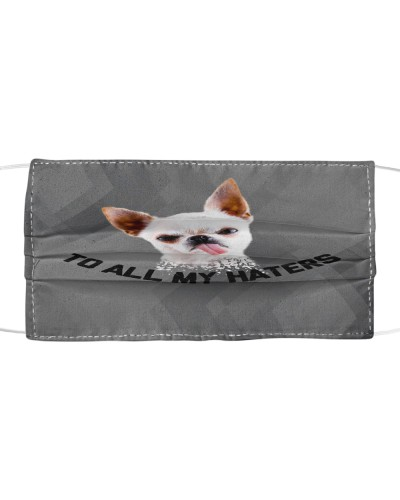 dt 3 chihuahua haters cloth mask
