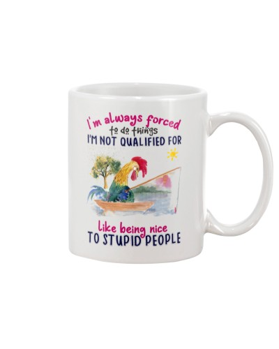 Chicken do thing mug