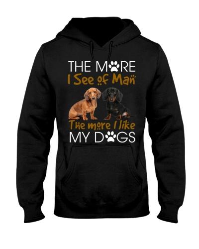 The more i like my dachshund