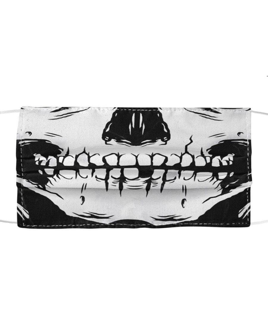 TTN 11 Skull Mouth Cloth face mask