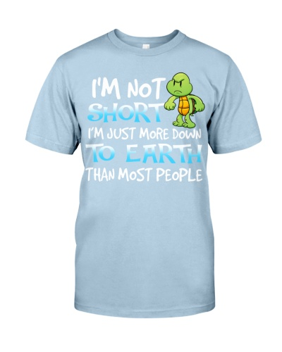 Turtle is not short shirt