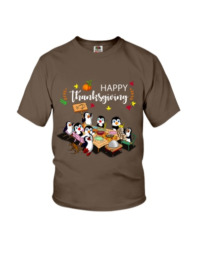 Penguin's Thanksgiving Dinner
