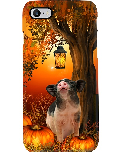 Pig autumn tree case
